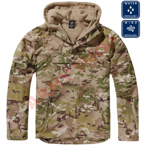 BRANDIT striukė Windbreaker, TACTICAL CAMO