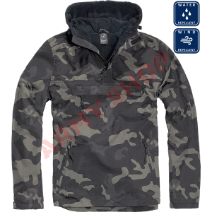 BRANDIT striukė Windbreaker, DARK CAMO