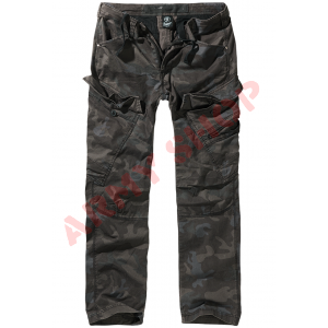 BRANDIT Adven Slim Fit kelnės, DARK CAMO